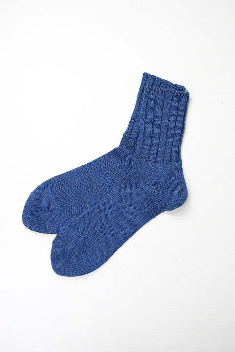 Low Gauge Like Denim Socks