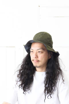 Reversible Soft Wire Hat 'ZAYN' / リバーシブルソフトワイヤーハット