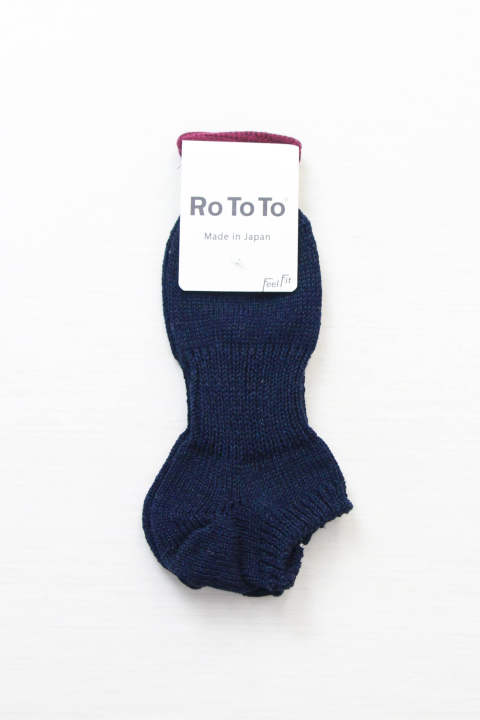 Low Gauge Like Denim Socks Short