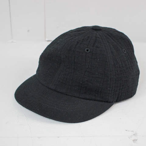 珍しいガーゼ素材のCAP【cotton triple gauze cap】