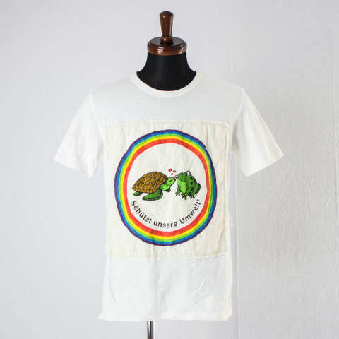 ecoバッグのデザインを活かしたリメイクTシャツ【eco bag Re:T-shirt】