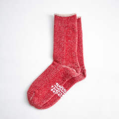 RoToToとTHING FABRICSとのコラボソックス【TIP TOP 365 ORGANIC HEATHER PILE CREW SOCKS】